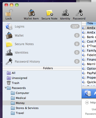 1Password after import